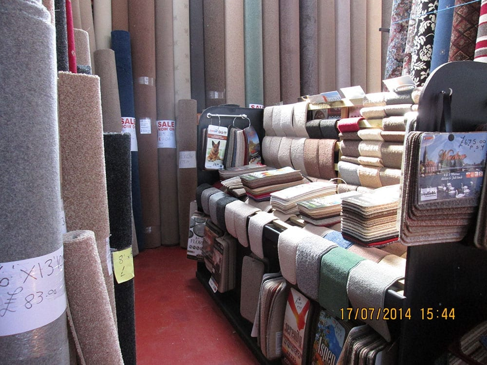 Manchester House Carpets Interior