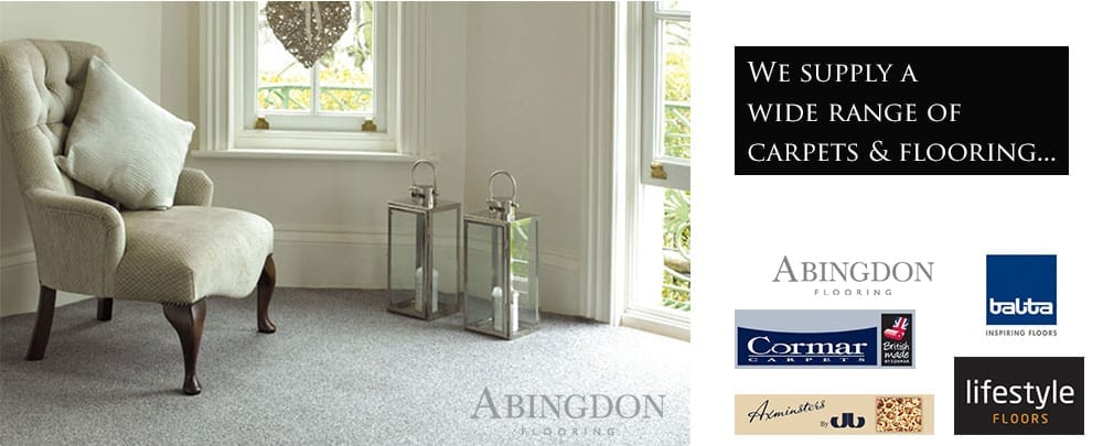 We Supply a large range of Carpets and Flooring